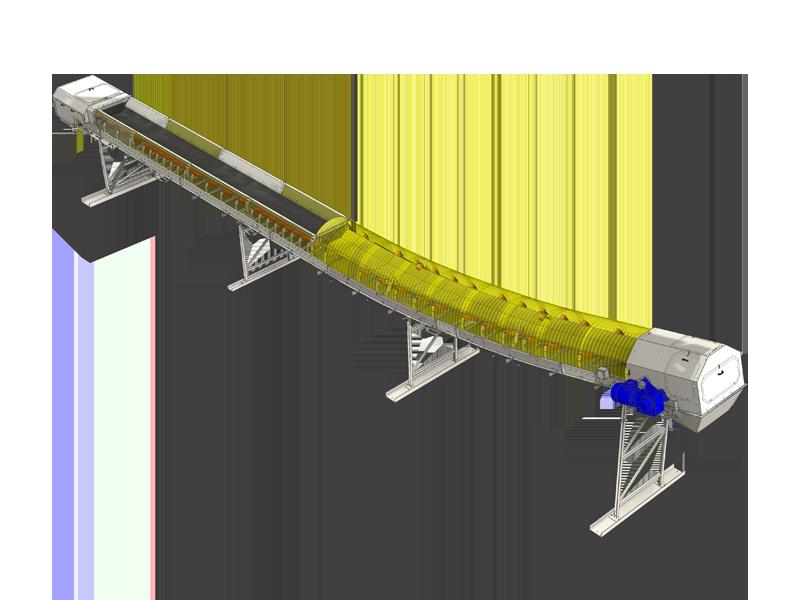 collecting conveyor RC