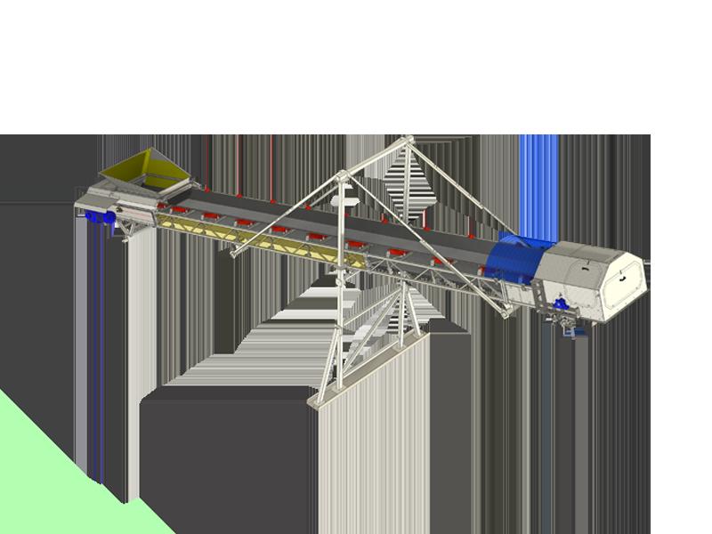 Inclined conveyor WM