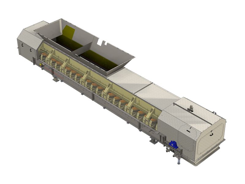 Wiegeband multivariable RC-Zugabe