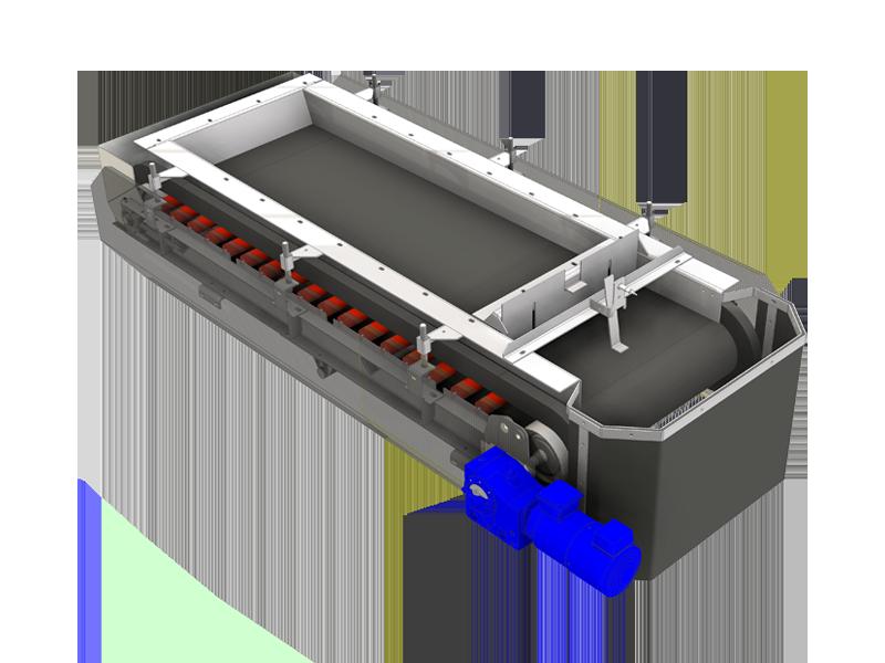 Abzugsband multivariable RC-Zugabe