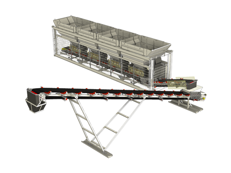 Container Vordosierung